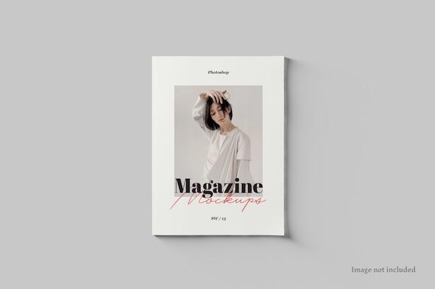 잡지 표지 이랑 평면도 프리미엄 PSD 파일