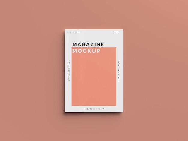 잡지 목업 무료 PSD 파일