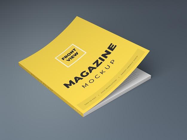 잡지 모형 프리미엄 PSD 파일