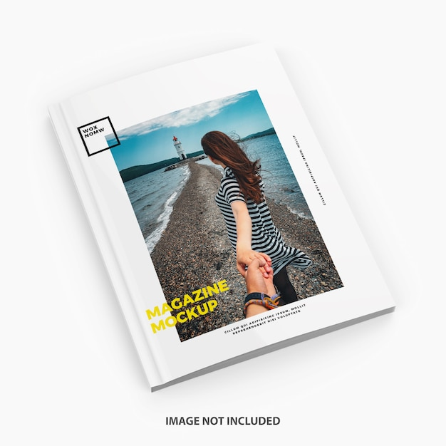 Magazine mockup Premium Psd