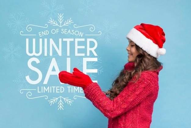 Маркетинговая кампания для рождественских продаж Бесплатные Psd