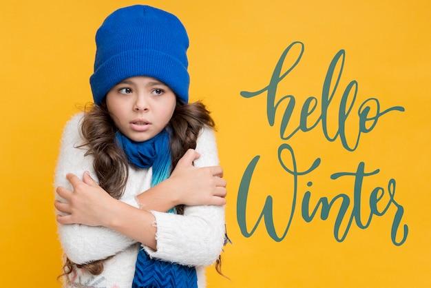 Маркетинговая кампания для зимних распродаж Бесплатные Psd