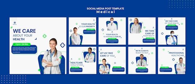 Medical assistance social media post