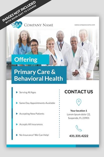 Medical Flyer Template Psd File Premium Download