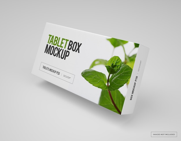 Medication branding and packaging mockup