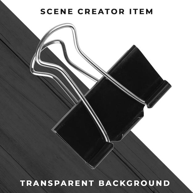 金属のペーパークリップオブジェクトの透明なpsd 無料 Psd