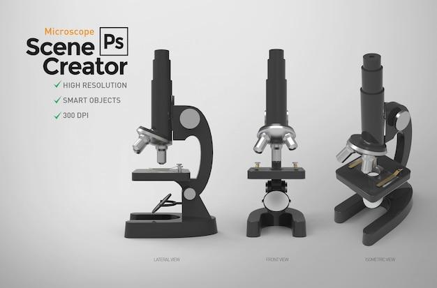 Microscope. scene creator. resource.