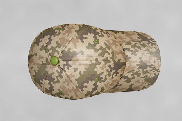 Military cap mockup Free Psd