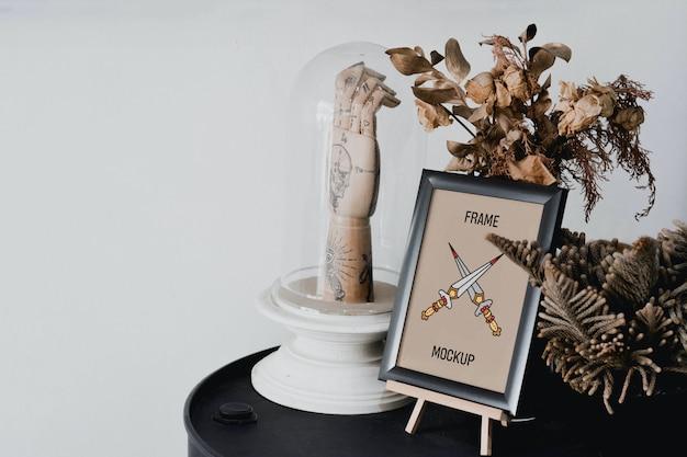 Mini frame mockup Premium Psd