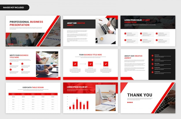 Minimal project overview slider template Premium Psd
