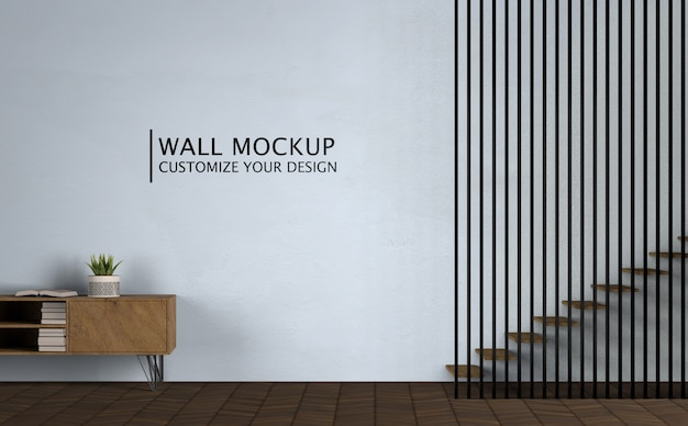 Minimalismo concept interior design Psd Gratuite