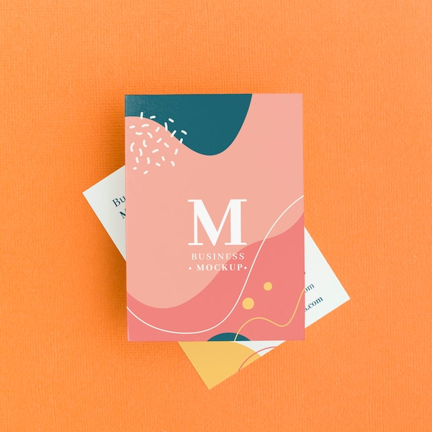 Minimalist business card mockup Premium Psd