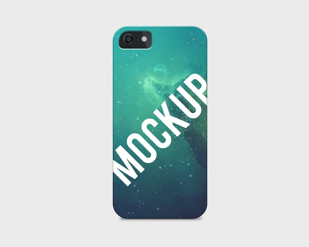 Mobile phone case mock up PSD file