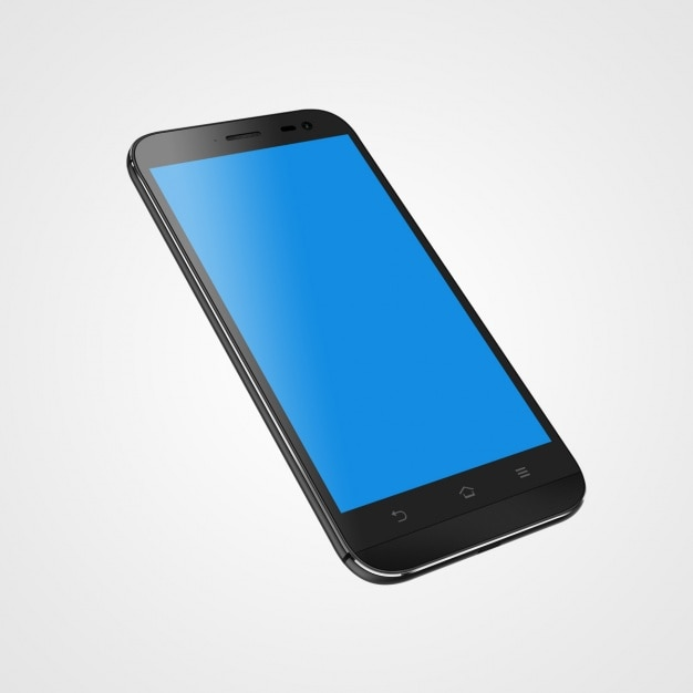 Mobile phone mock up design Free Psd