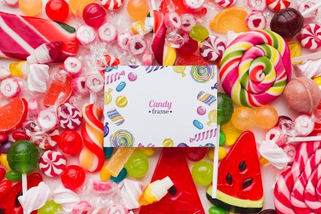 Рамка для конфет