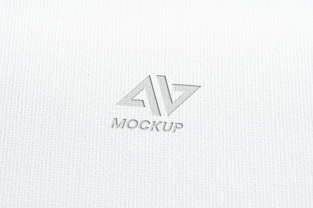 Макет дизайна логотипа бизнес крупным планом Бесплатные Psd