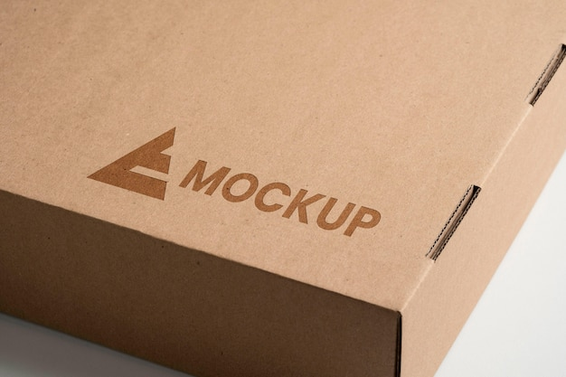 모형 로고 디자인 높은보기 무료 PSD 파일