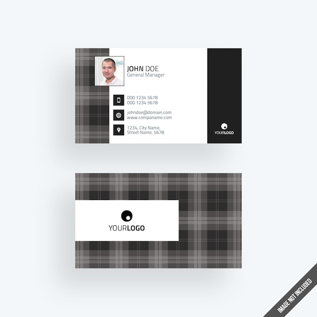 Modern black business card mockup with calendar psd file premium modern black business card mockup with calendar premium psd reheart Image collections