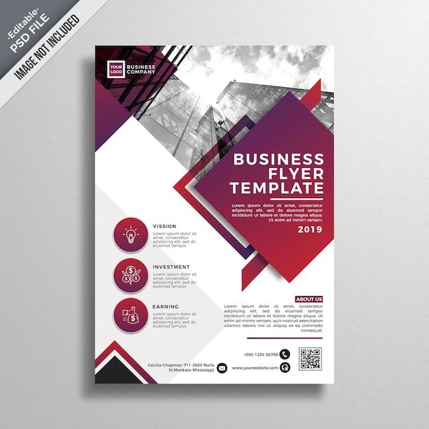 Modern business brochure mockup Premium Psd