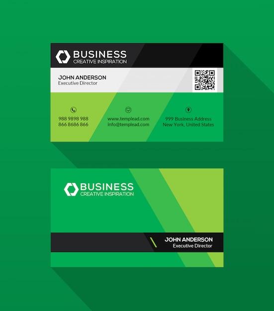 modern business card psd template  premium psd file
