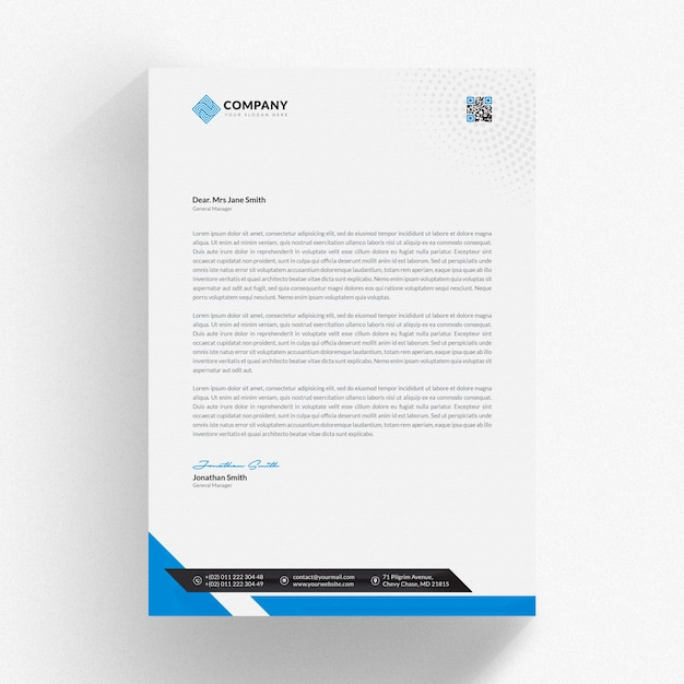 Modern business letter template PSD file | Premium Download on flyer templates, print brochure templates, crime scene markers templates, black shopping bag templates, photography website templates, fancy title templates, page layout templates, simple memory mates templates, household notebook templates, 1 page brochure templates, label templates, pdf templates, create your own ticket templates, logo templates, photography portfolio templates, text templates, website header templates, internet auto sales templates, photography branding templates, newsletter templates,