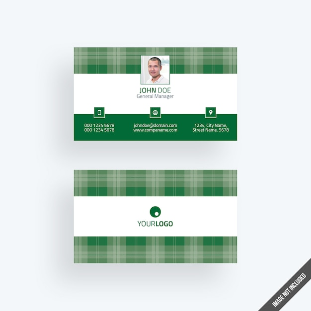 Modern green business card mockup with calendar psd file premium modern green business card mockup with calendar premium psd reheart Image collections