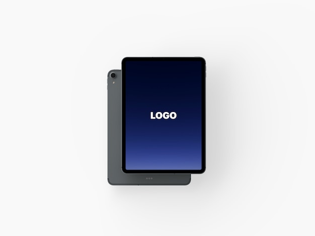 Modern iphone x and macbook pro mockup Premium Psd