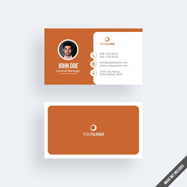Modern orange business card mockup with calendar psd file premium modern orange business card mockup with calendar premium psd reheart Image collections