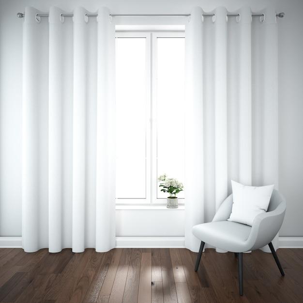 Floorlength curtains