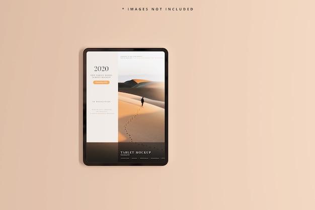 현대 태블릿 화면 모형 무료 PSD 파일