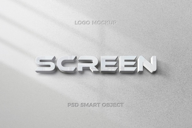 Modern text style effect with text template design Premium Psd