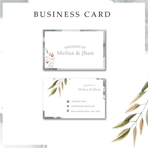 Modern Wedding Invitation Cards Psd File Free Download