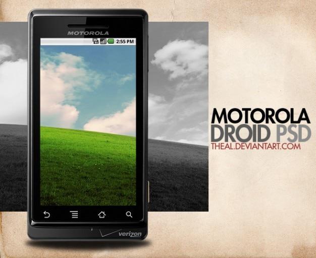Motorola droid psd PSD file | Free Download