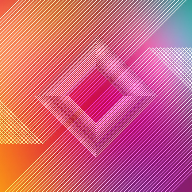 Multicolor stripes background Free Psd