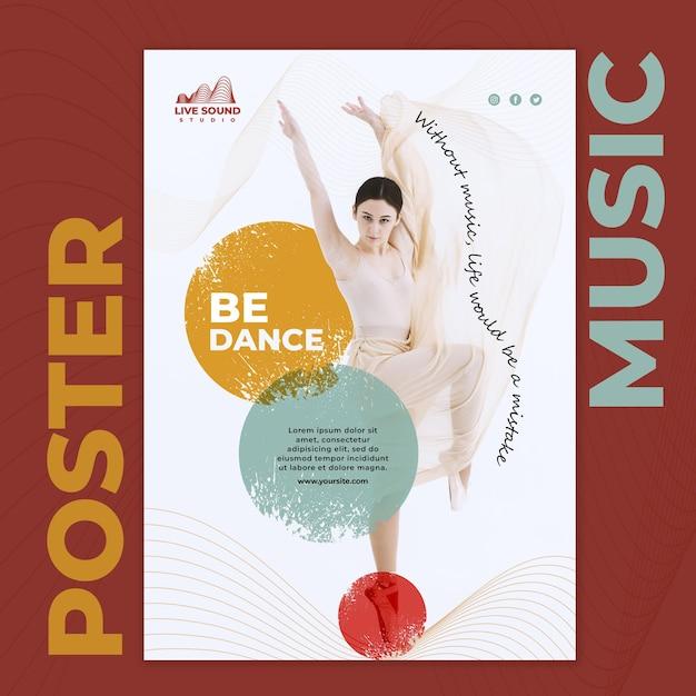 그림 음악 포스터 템플릿 무료 PSD 파일