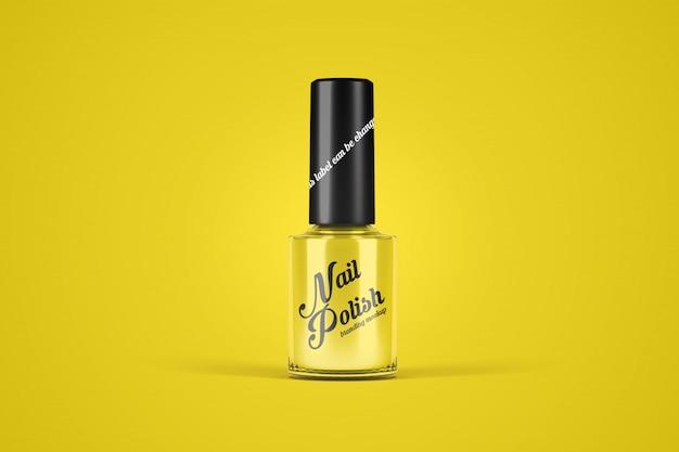 Nail polish mockup Premium Psd
