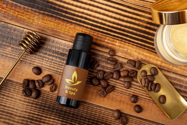 Natural and organic products at spac Free Psd