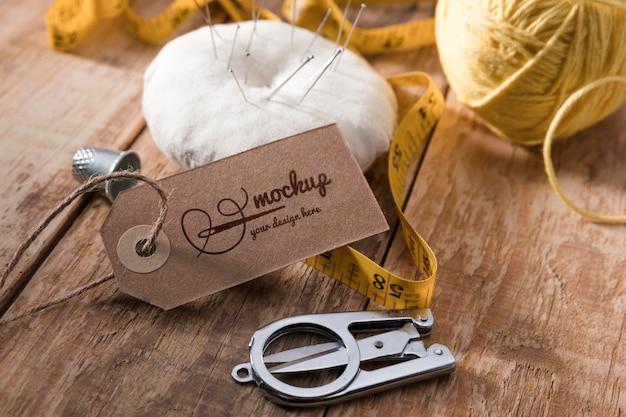 Aghi e filo per cucire Psd Gratuite