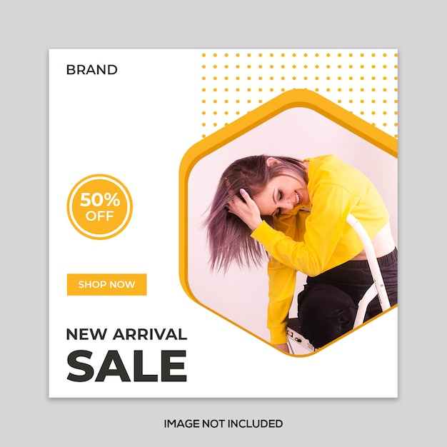 New Arrival Sale Banner