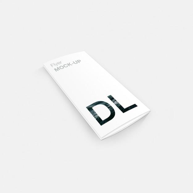 つ折りテンプレートデザイン 無料 Psd