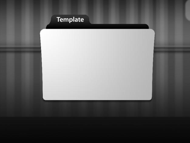 フォルダアイコンのテンプレート psdファイル 無料ダウンロード