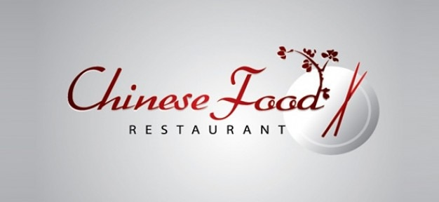 中華レストランのロゴテンプレート psdファイル 無料ダウンロード