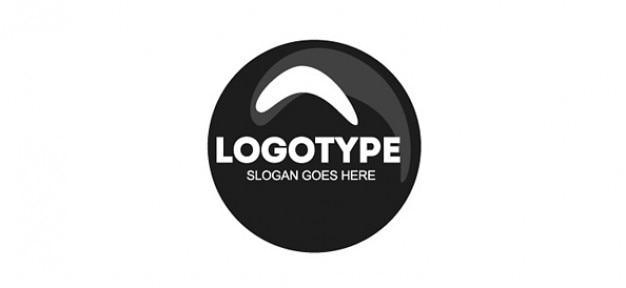 サークルロゴのデザインテンプレート psdファイル 無料ダウンロード