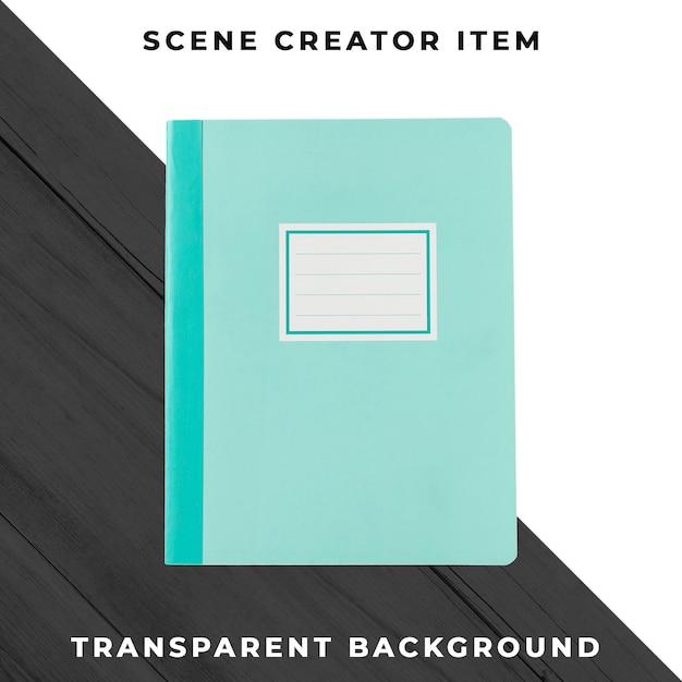 ノートブックオブジェクトの透明なpsd 無料 Psd