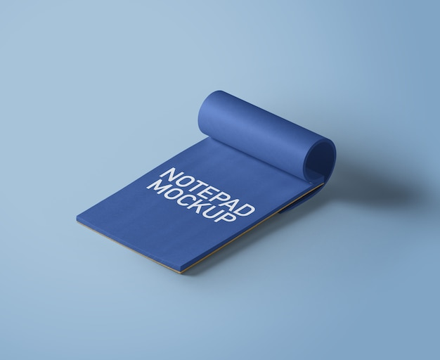 Notepad-mockup Premium Psd