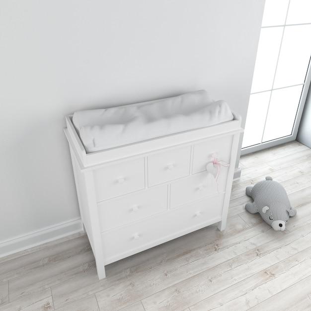 Nursery furniture Free Psd