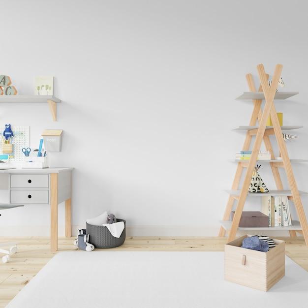 Дизайн интерьера детской комнаты Бесплатные Psd