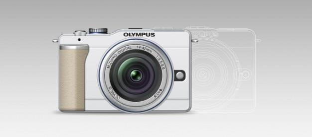 Olympus pen lite e-pl1 Free Psd