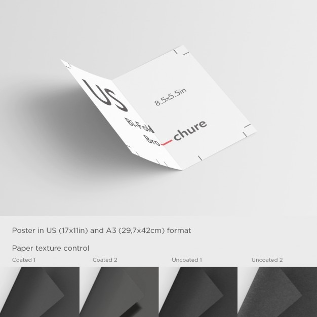 Open Brochure Template PSD File