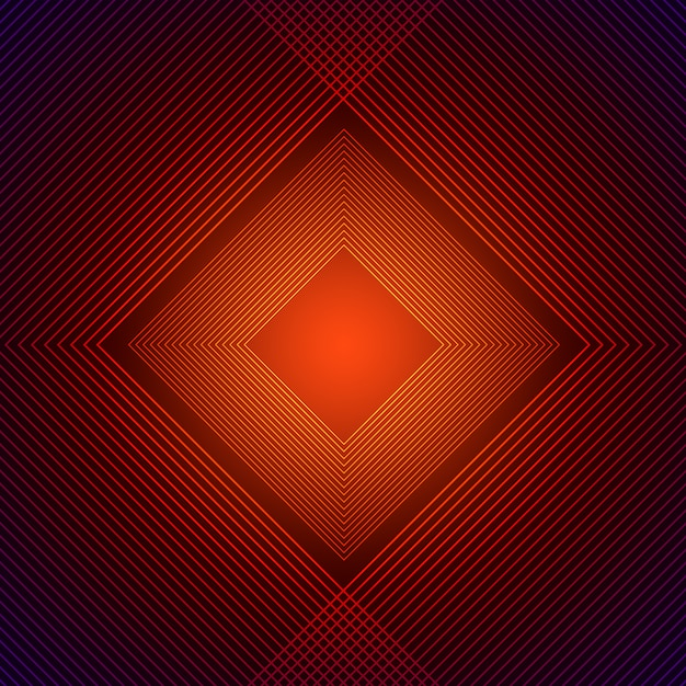 Orange rhombus background Premium Psd